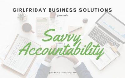 Girlfriday's Savvy Accountability