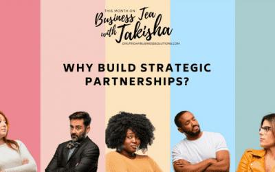 Why Build Strategic Partnerships